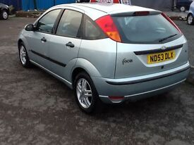 AUTOMATIC --FORD FOCUS ZETEC--ONE YEAR MOT///70000 MILS//EXCELLENT CONDITION