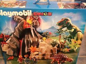 Playmobil dinosaurs set