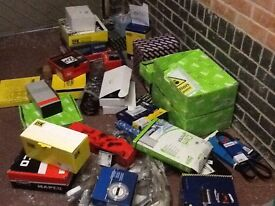 Car parts job lot of new old stock to include clutch kits / timing kits brake hoses over £4K retail