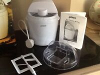 Electric ice-cream maker new unused .