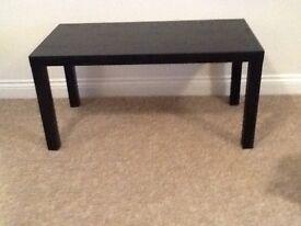 Coffee table, part of Argos Home range, black