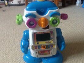 V tech gadget the robot