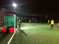 Monday Night Football. Play casual footy in East London. New players welcome. Play today!