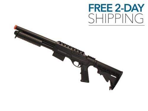 AIRSOFT GUN SHOTGUN BB Pump Action 390 FPS Crosman Voodoo NEW FREE 2 DAY SHIP