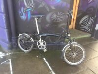 Brompton 6 speed folding bike