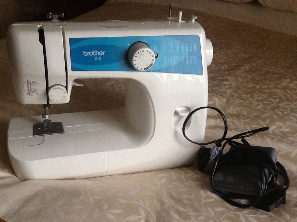 Brother X40 Sewing Machine Excellent Hardly Used Complete With Full New Brother X5 Sewing Machine Parts