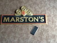 Mars tons single sided authentic retro resin pub sign great for man cave