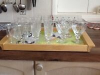Drinking glasses selection