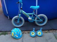 Girls Apollo first bike set