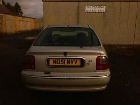 Rover 45 for repair or parts.