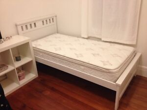 Single Bed Frame with Mattress Chatswood Willoughby Area Preview