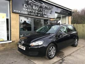 2010/59 VOLKSWAGEN GOLF MATCH 1.6 TDI DIESEL BLACK 5 DOOR 84k