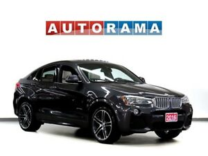 2016 BMW X4 M SPORT PKG NAVIGATION LEATHER SUNROOF 4WD