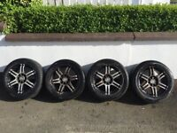 "15"" Multi Stud Alloys (Peugeot/Citroen fitment) Will fit most cars"