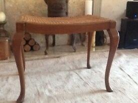 Large cane stool