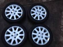 2004 Nissan Pulsar 16 inch alloy wheels x 4 Galston Hornsby Area Preview