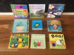 assorted toddler childrens books