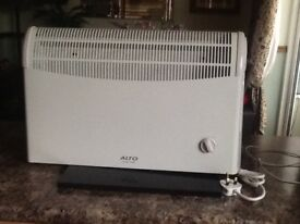 Electric convector heater