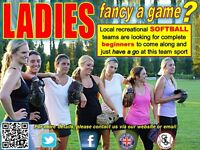 are there any new LADIES out there who fancy a game?