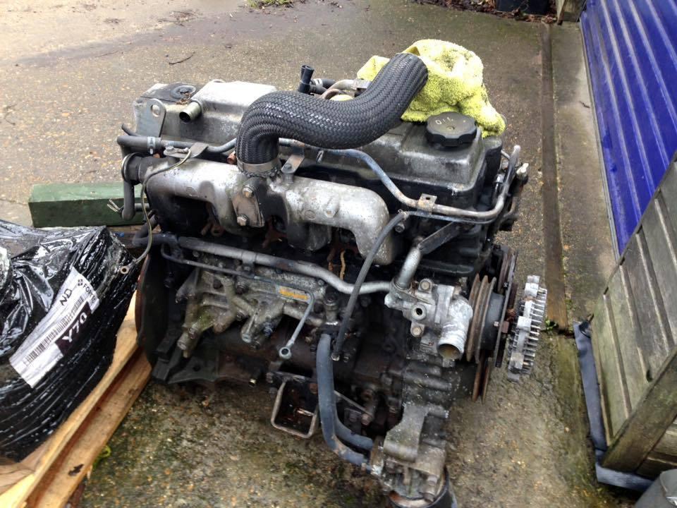 4m40 Engine manual transmission