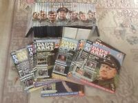 Dad,s Army complete set of 27 DVDs with accompanying magagazine as new