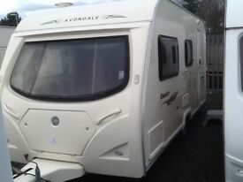 f63ff542e98be2 2008 AVONDALE dart 475-4 berth fixed bunk beds light weight easy to tow