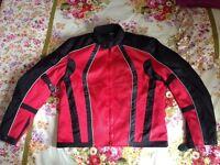 Motorbike Jacket Summer WATERPROOF(thermal detachable lining) size S/M/L BRAND NEW