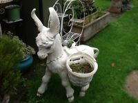 Large donkey planter