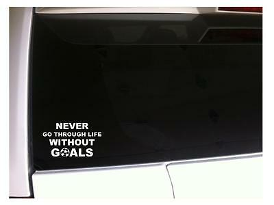Pottery Barn Home Decor  Life Without Goals Car Decal Vinyl Sticker 6