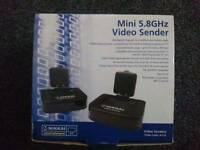 Wireless video sender in fully working order and boxed. Great for sky