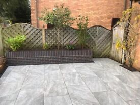 Landscape gardening - patio / fencing / turfing / decking and more
