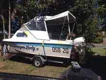 Nova craft trihull 15 ft 35hp Wynnum West Brisbane South East Preview