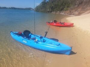 2 x Hobie Outback Mirage Drive Kayaks Newcastle Newcastle Area Preview