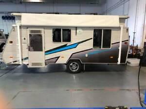 Coromal POP Top 17ft Caravan ( Deposit Taken awaiting collection)