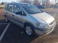Vauxhall Zafira 1.8 Petrol Auto HPI CLEAR, PART SERVICE HISTORY, ELEGANCE MODEL 2005