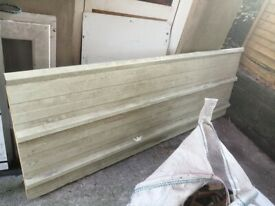 Box profile Roofing sheet , insulated one availabe