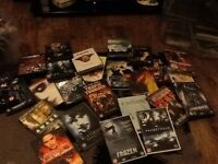 Job lot DVDs 134 in total