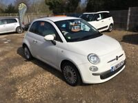 2010 FIAT 500 1.2 PETROL £30 TAX 1 OWNER FROM NEW