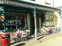 Quality Coffee Lounge and Licensed Restaurant in busy town centre