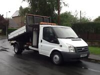 Ford Transit Tipper With Toolbox 2009 White