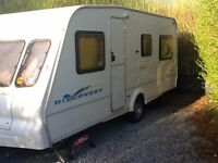 5 Berth 2003 Bailey Discovery Touring Caravan