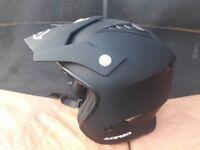 acerbis trials helmet brand new size medium