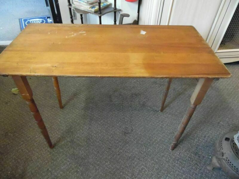 Antique Sewing Collapsible Table