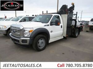 2014 Ford F-550 XLT 4X4 Picker Crane