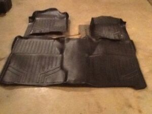 Fitted floor mats for chev Silverado crew cab