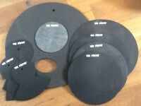 "Vic Firth Drum and Cymbal Silencer Pads 22"" Rock size"
