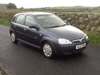 Lovely 2006 Vauxhall corsa 1.2 petrol,only 48000 miles,long m.o.t