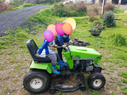 Kawasaki Greenfield ride on mower Houghton Adelaide Hills Preview