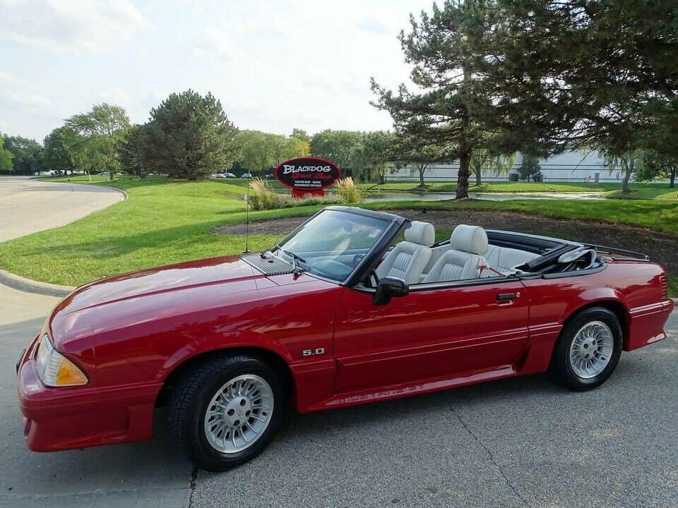 1989 Ford Mustang GT Convertible | eBay