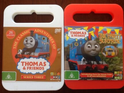 Thomas the Tank Engine DVD's, Series 3 & The party surprise